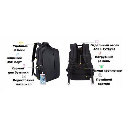 Рюкзак для ноутбука Tigernu T-B3220 USB