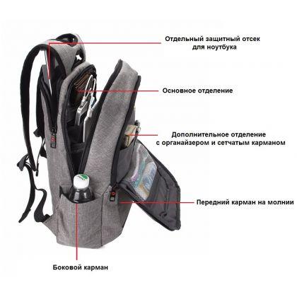 Рюкзак для ноутбука Tigernu T-B3090A